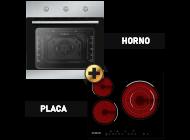 Horno+Placa Vitrocerámica Infiniton HV-6FBV3F A