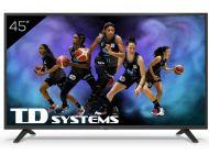 "LED TD Systems K45DLJ12US 45"" UltraHD 4K Smart Tv Android 9.0"