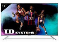 "LED TD Systems K50DLJ12US 50"" UltraHD 4K HDR10 Android Tv"