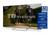 """Led Td Systems K50DlX11US 50"""" 4K Android TV Wifi Plata"""