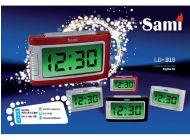 Despertador Sami LD318