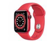 Apple Watch Series 6/ Gps/ 44Mm/ Caja De Aluminio (Product)Red/ Correa Deportiva Roja