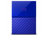 "Disco Duro Externo Western Digital My Passport Worldwide Azul - 4TB - 2.5""/6.3cm - Software Wd Backup - Wd Security - Wd Utilities - Usb 3.0"