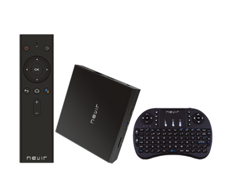 Smart TV BOX Nevir NVR-KM9PRO ATVB ANDROID Incluye teclado inalambrico