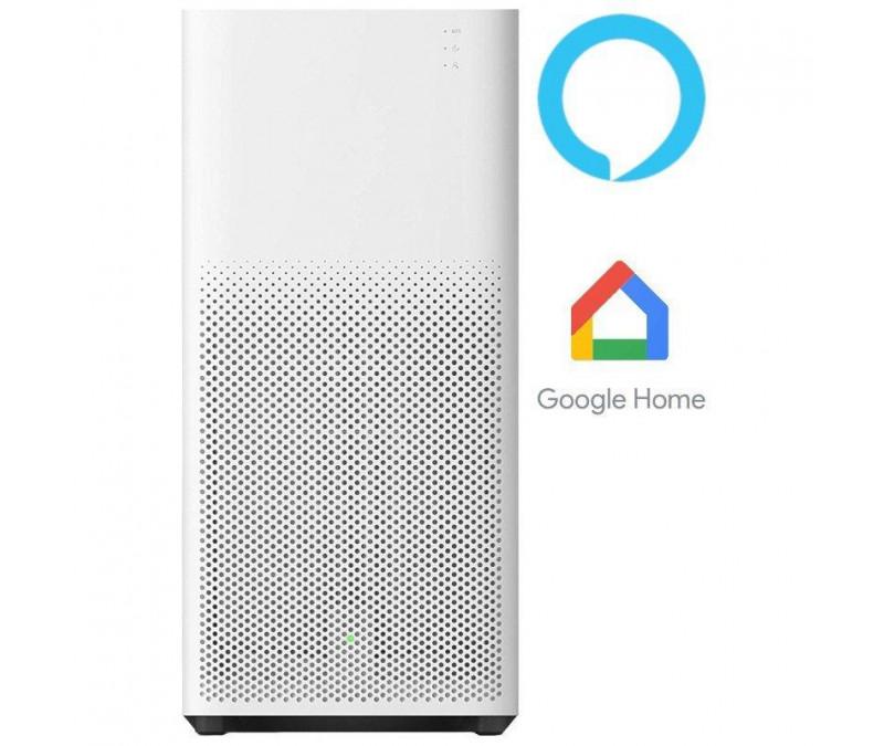 Purificador De Aire Xiaomi Mi Purifier 2H Blanco - Potencia Max. 31W - Filtro Hepa - Sensor Temperatura/Humedad - App Mi Home