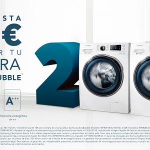 Lavadoras Samsung EcoBubble con regalo