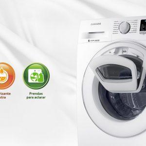 Lavadoras Samsung con la Nueva tecnología AddWash