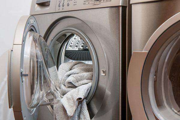 ropa en la secadora