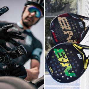 Accesorios para pádel y GPS para ciclismo